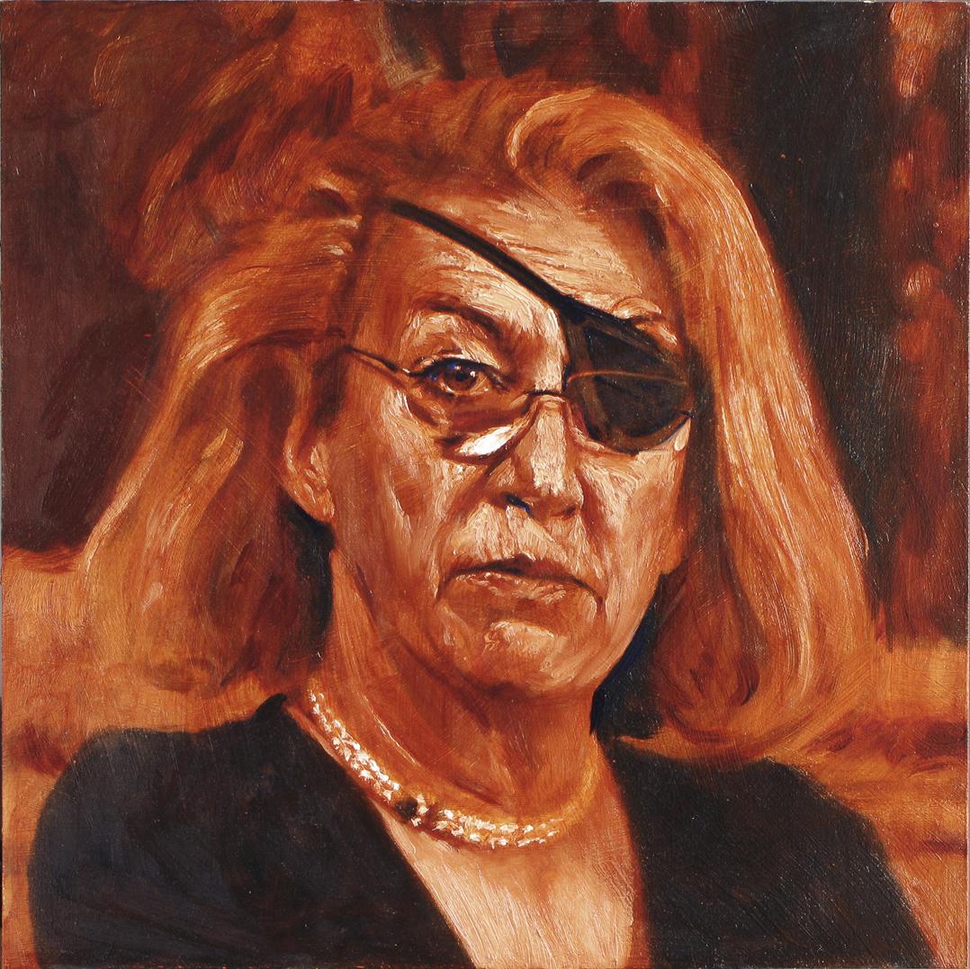 Marie Colvin, 2013, 30 x 30 (medium)