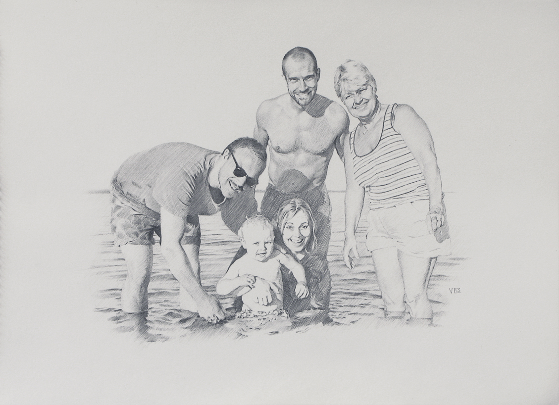 Fias familj, 2013, 29 x 21 (medium)